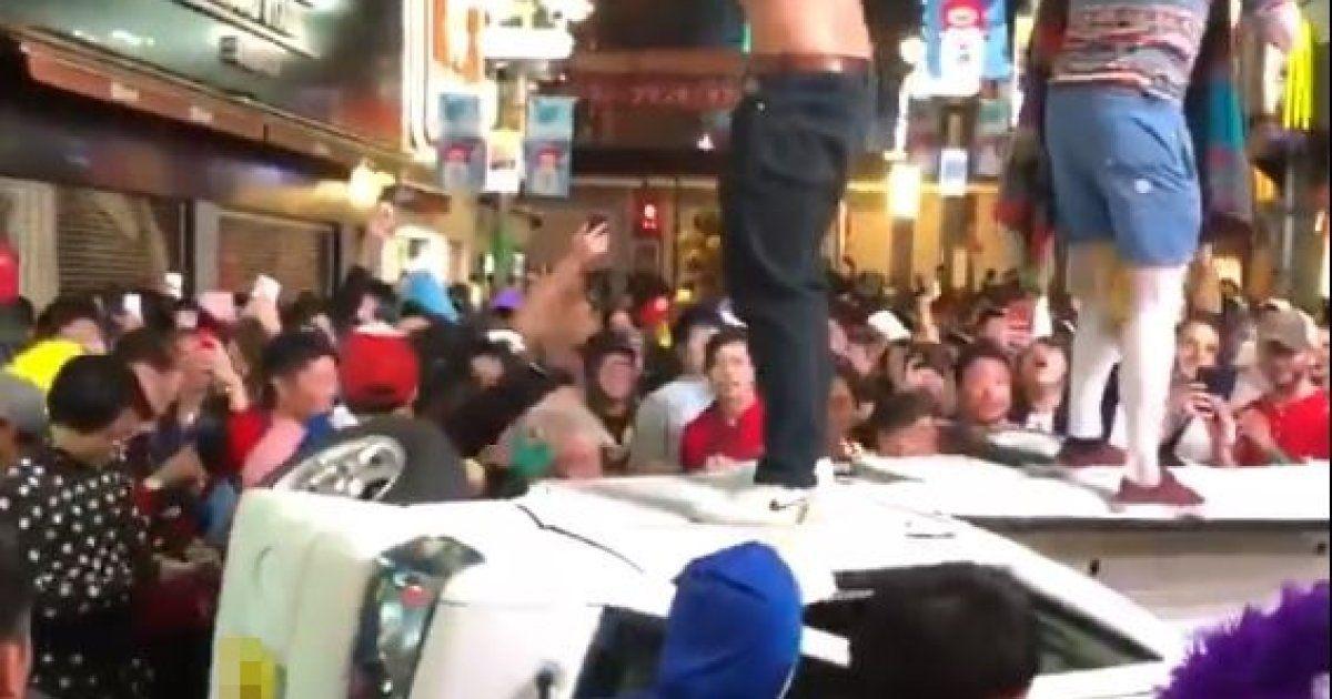 渋谷のハロウィン馬鹿騒ぎ 本番数日前から問題続出