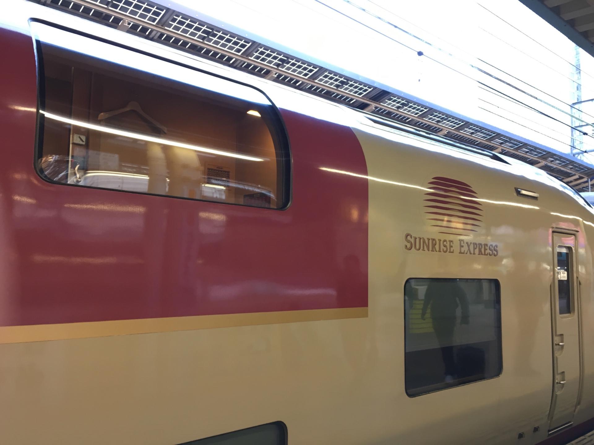 【スーツさんの別荘?】寝台特急サンライズ号に乗車 大阪→東京