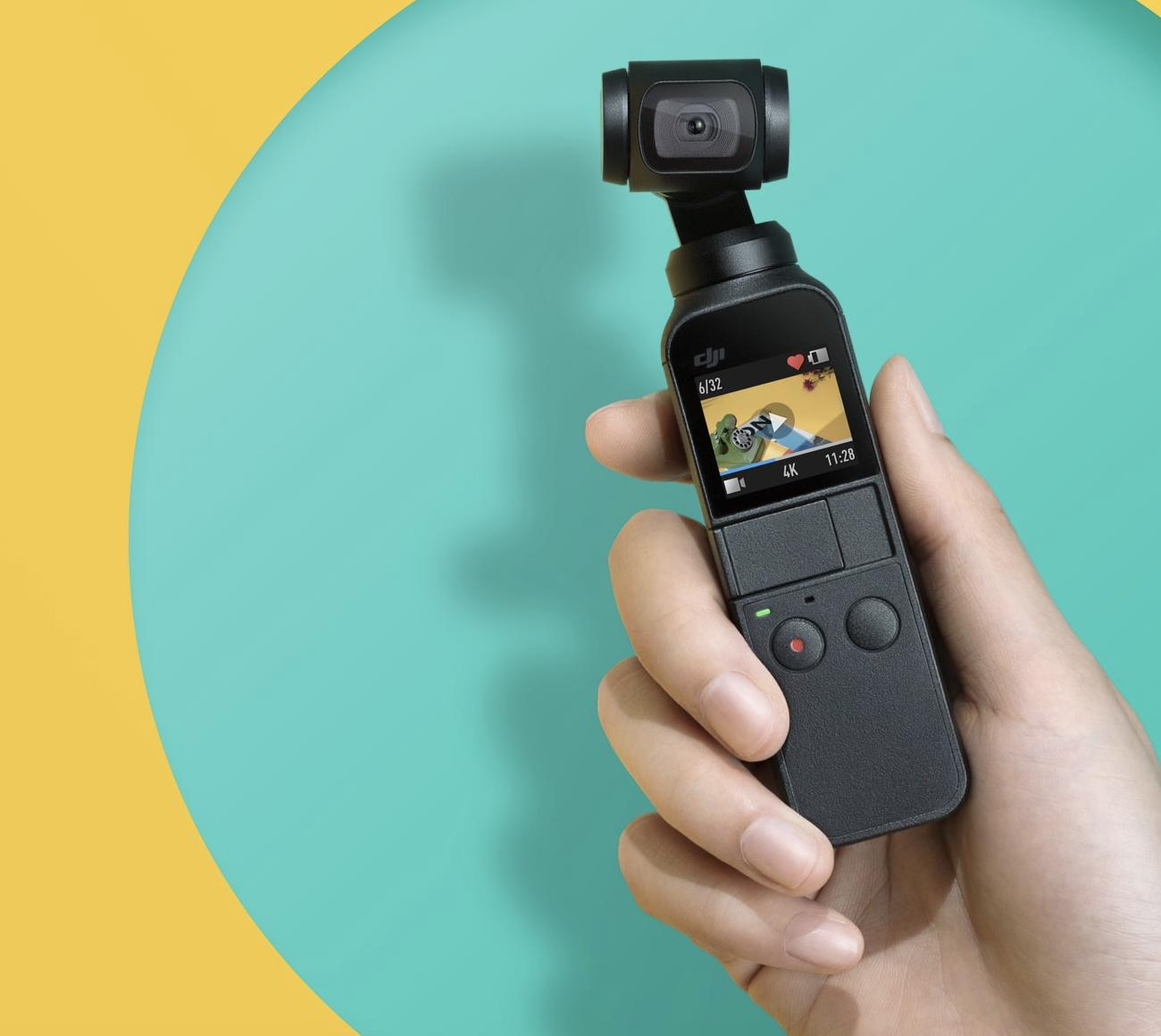 ジンバルとカメラの融合 Osmo Pocket 【これからの動画革命時代を後押し】