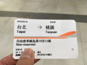 台湾新幹線 きっぷ