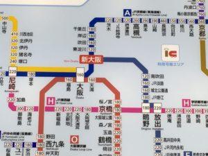 新大阪駅 おおさか東線 路線図