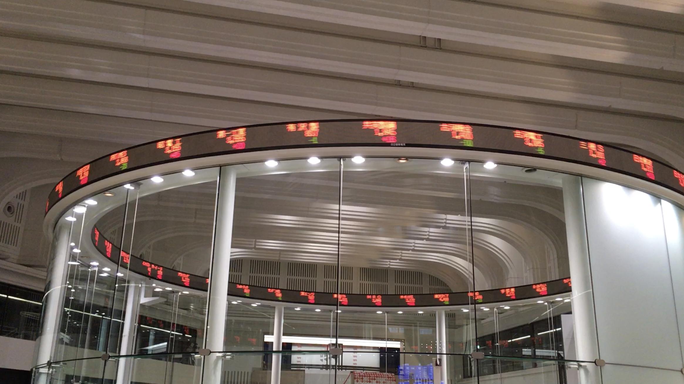 東京証券取引所に行ってきた