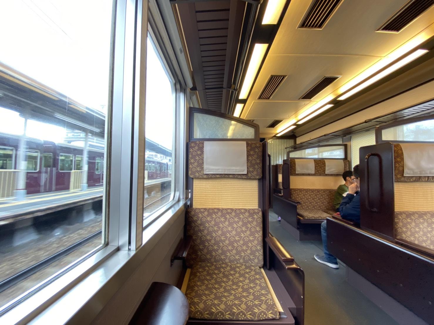 【追加料金なし!】土日祝限定の阪急の「京とれいん」に乗車
