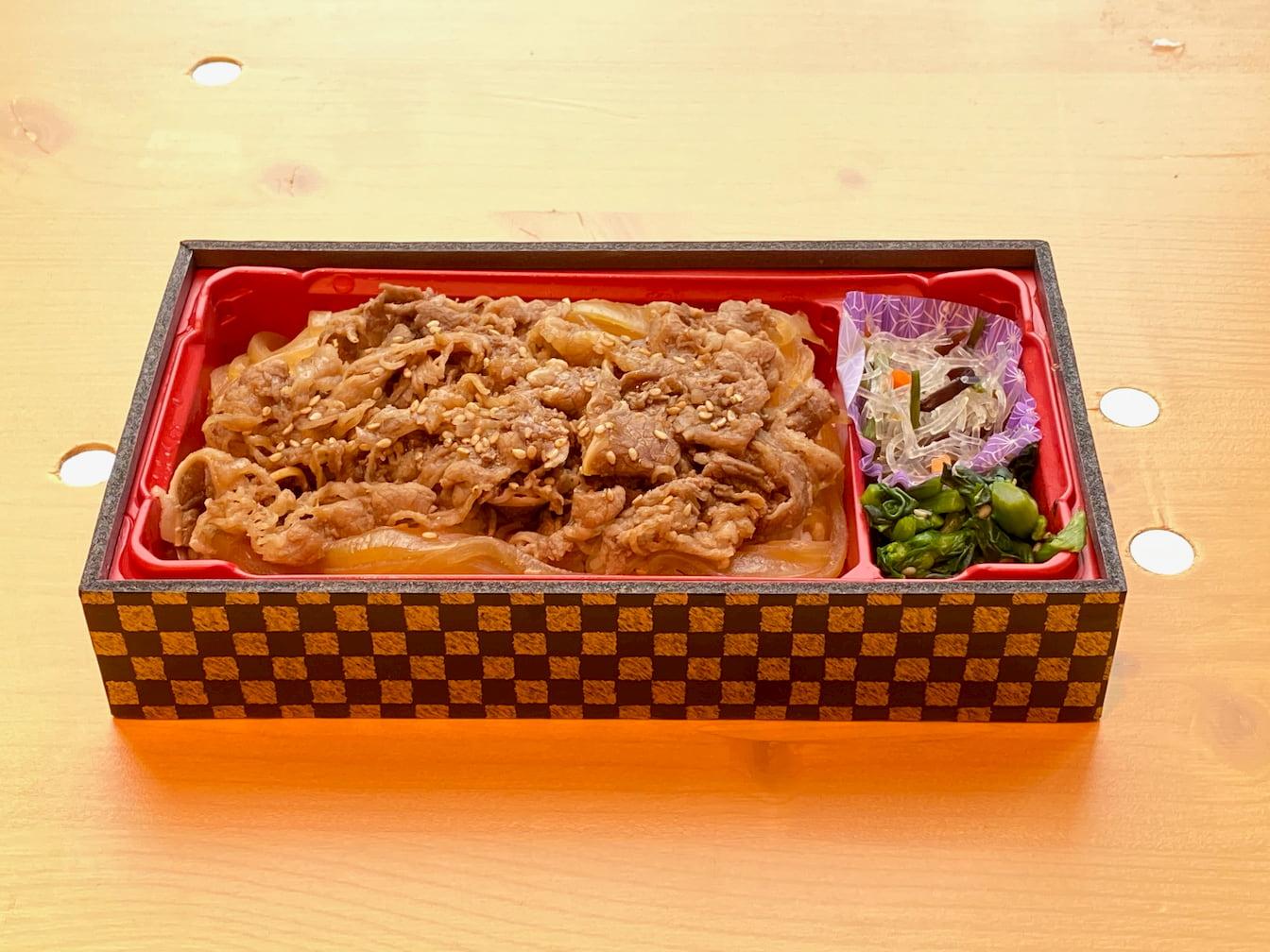 芸人たむらけんじさんのお店「炭火焼肉たむら」の弁当を購入 @ヨドバシ梅田LINKS